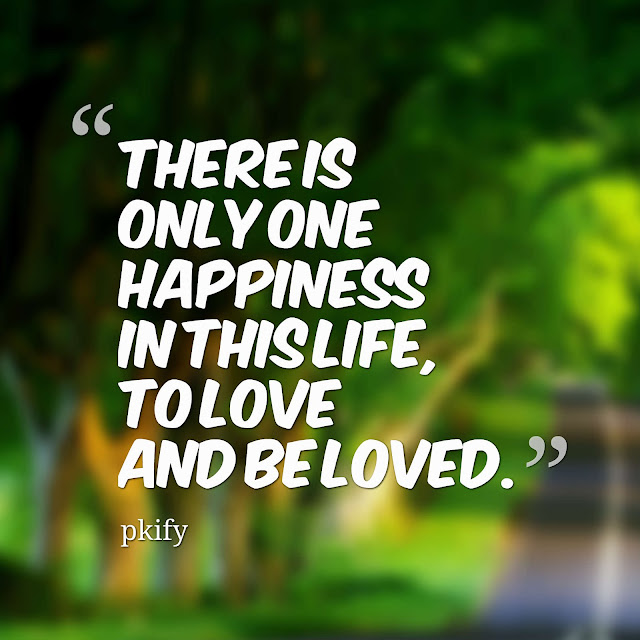 There Is Only One Happiness in This Life to Love and Be Loved Life Quotes