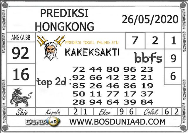 Prediksi Togel HONGKONG DUNIA4D 26 MEI 2020