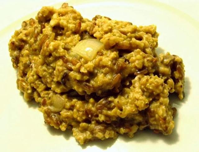 Millet and Brown Rice with Tahini and Tamari