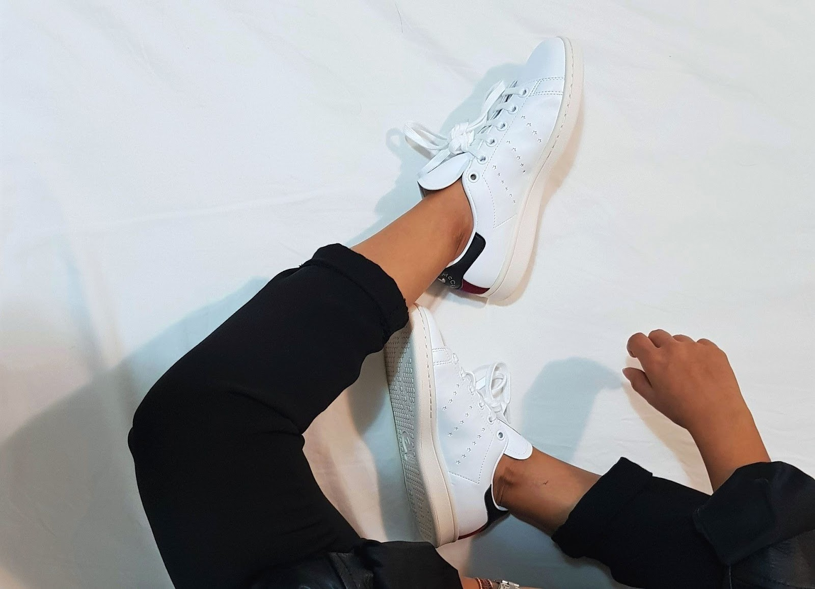 Vegan Stan Smith Sneakers Stella McCartney - best eco-friendly sneakers