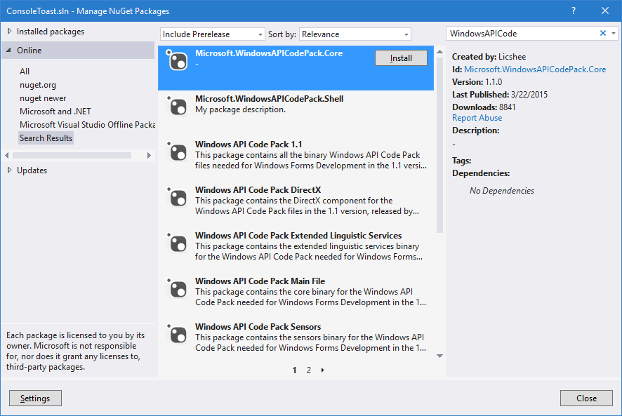 Plastic SCM blog: How to send Windows Toast notifications from