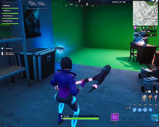 Found in a basement budget movie set FORTBYTE Mission #65