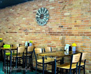 Sambuca Cafe Vassar handmade tables