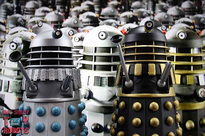"Custom 'The Curse of Fatal Death"" Black Dalek 23"