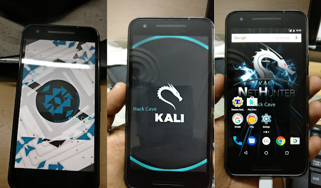 Kali NetHunter Nexus 5x