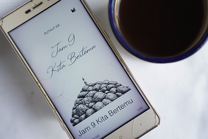 Buku Jam 9 Kita Bertemu karya Puthut EA