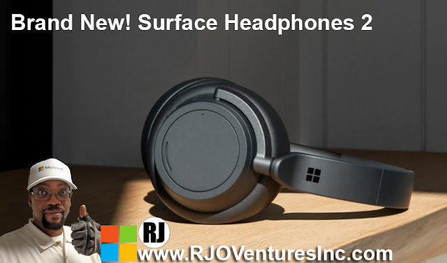 Available Now: New Microsoft Surface Headphones 2 [RJOVenturesInc.com]