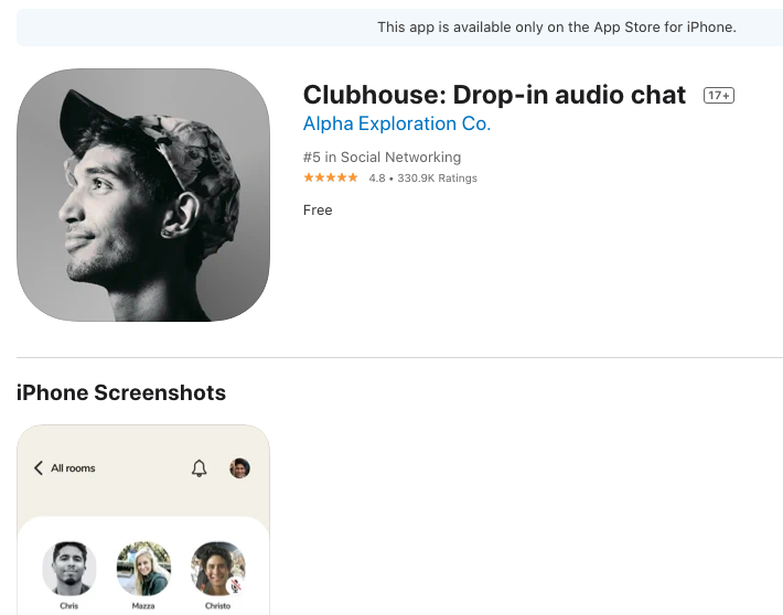 Apa Itu Aplikasi Clubhouse? Inilah Penjelasannya!