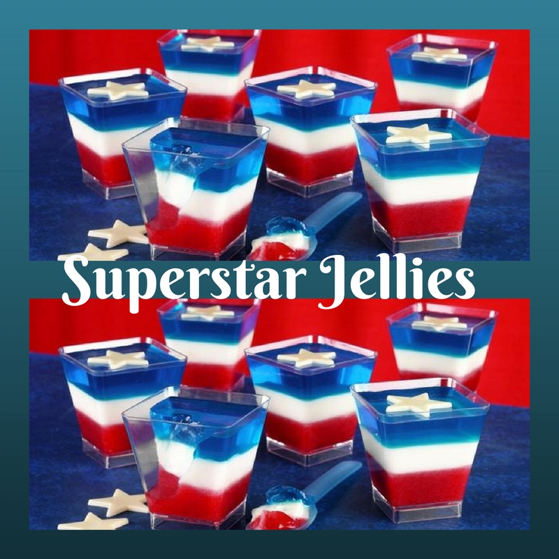 Superstar Jellies: Great For Fathers Day