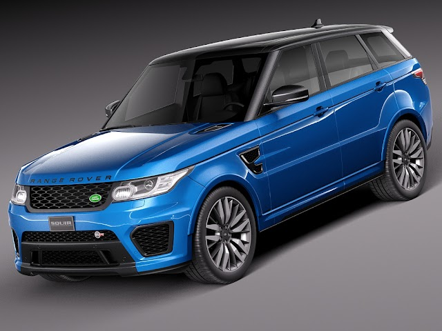 Land Rover Range Rover Sport SVR 2015 modèle 3D