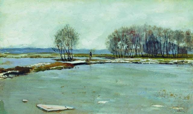 Исаак Ильич Левитан - Ранняя весна. 1899