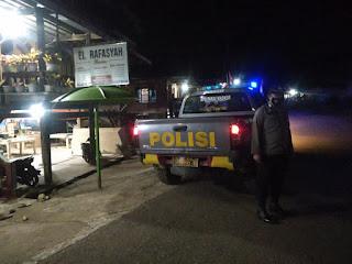 Patroli Malam Personel Polsek Curio Senantiasa Jaga Kamtibmas Saat Masa PPKM