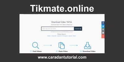 tikmate online downloader