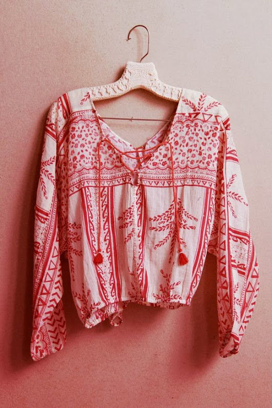 In my Mind - Gypsy Blouse