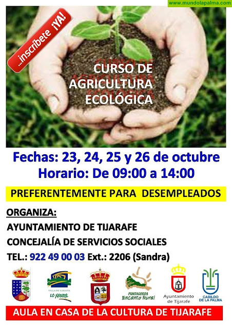 Curso de Agricultura Ecológica en Tijarafe