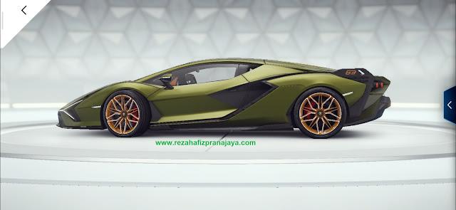 Lamborghini Sian FKP 37 is