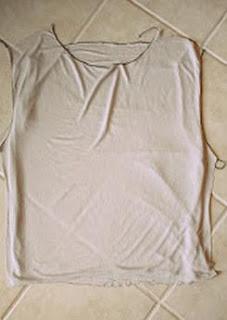 Tişörtte Sırt Dekoltesi Yapımı