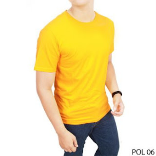 Sales Kaos Polos Spandek Murah di Sleman