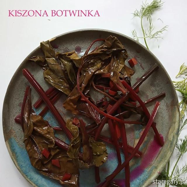 Kiszona botwinka