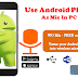 The Quick Beginner Guide : How to use android Phone as Microphone | Wo Mic 2020 [Updated]