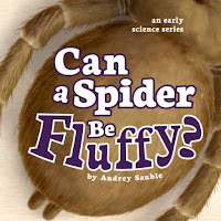 A children's book about spiders
