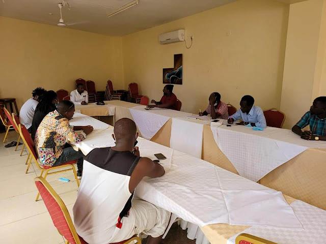 Incoming Kilifi Senator George Kithi meets Kilifi artists