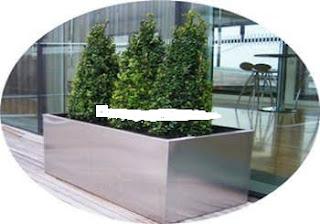 pot tanaman bunga stainless murah