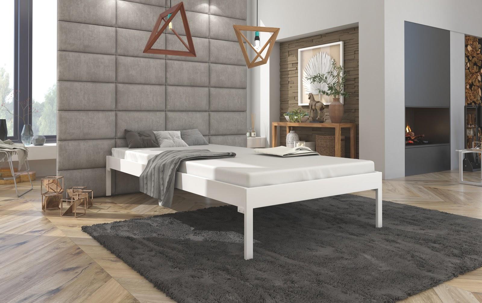 Łóżko metalowe wzór 40