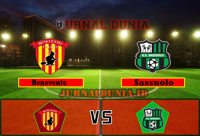 Prediksi Benevento vs Sassuolo, Selasa 13 April 2021 Pukul 01.45 WIB