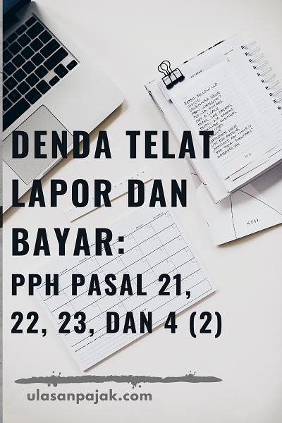 Denda PPh 21 22 23