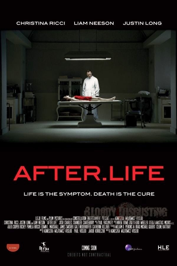 After.Life: Christina Ricci, Liam Neeson, Justin Long | A Constantly Racing Mind
