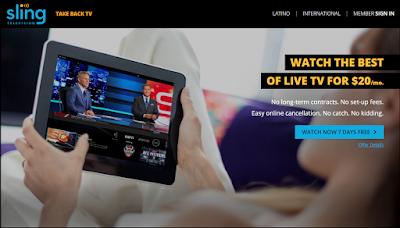 Débloquer Sling TV en dehors des États-Unis