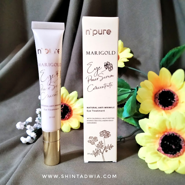 review N'PURE Marigold Eye Serum Power Concentrate