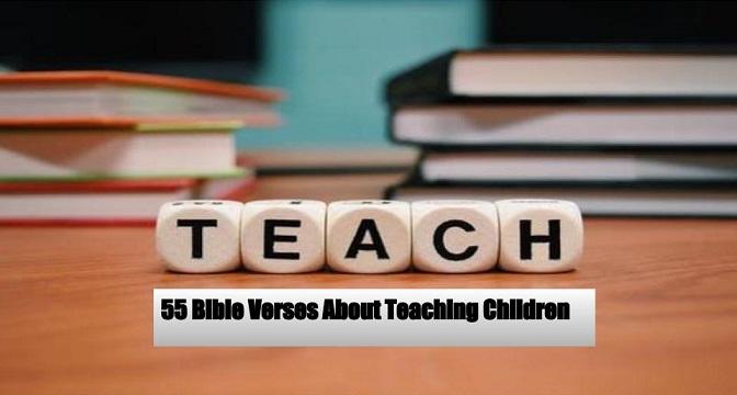 Bible Verses About Teaching Children