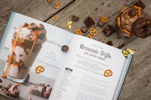 Brownie Trifle mit Schoko Sahne - Ich machs mir einfach - einfach lecker