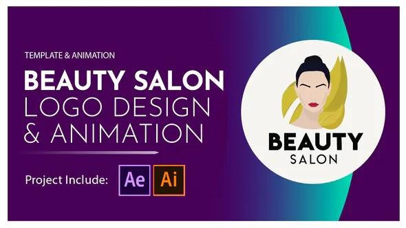 Videohive - Beauty Salon Logo Design and Animation - 28581380