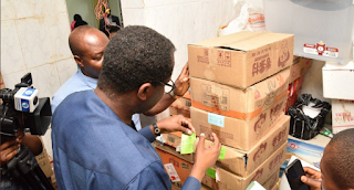 Fear of Coronavirus: FG seals Abuja supermarket that sells imported sea food from China