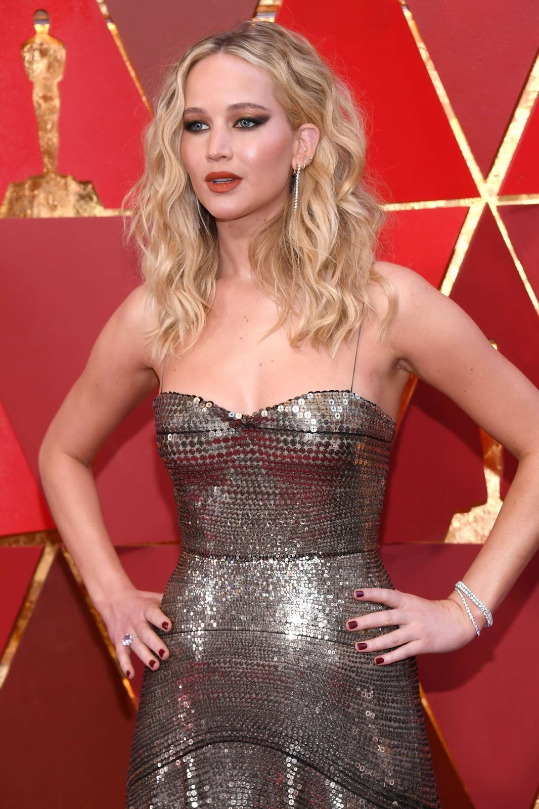 Jennifer Lawrence – 2018 Academy Awards in Los Angeles