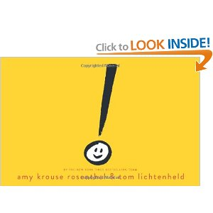 Picture Book Review of Exclamation Mark by Amy Krousse Rosenthal