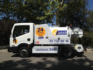 Servicio de Camión Cuba para limpieza y desatascos