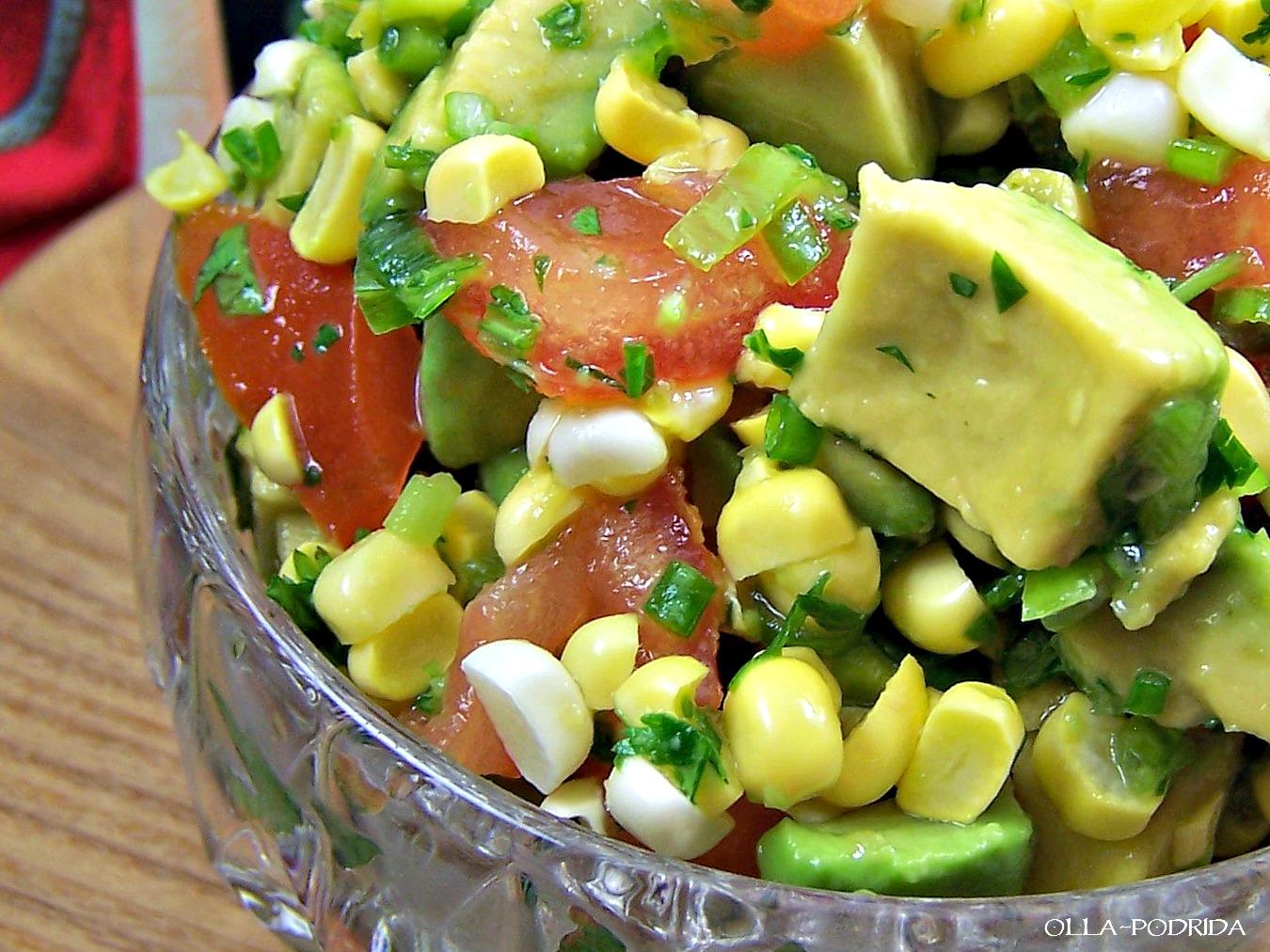 Olla-Podrida: Avocado and Corn Salsa