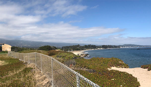 View of the ocean just across the street from KITP (Source: Palmia Observatory)