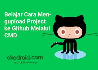 Belajar Cara Mengupload Project ke Github Melalui CMD