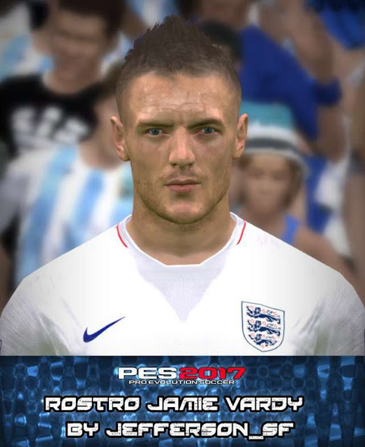 Jamie Vardy New Face PES 2017