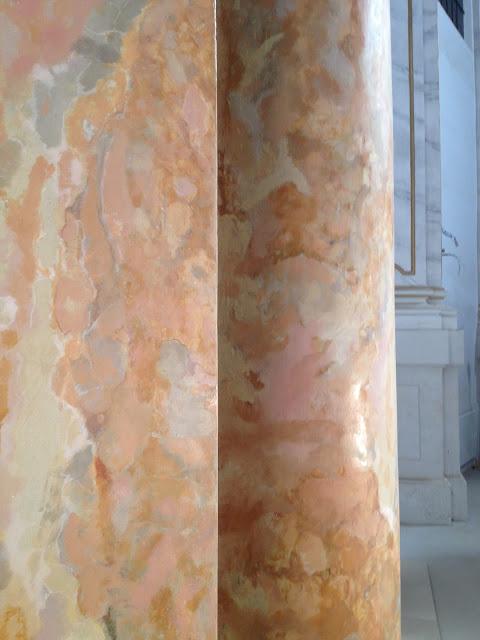 márvány festés