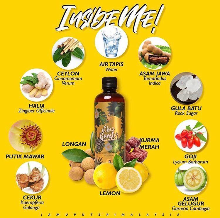 bahan Jus Minuman Herba Jamu Puteri Viral