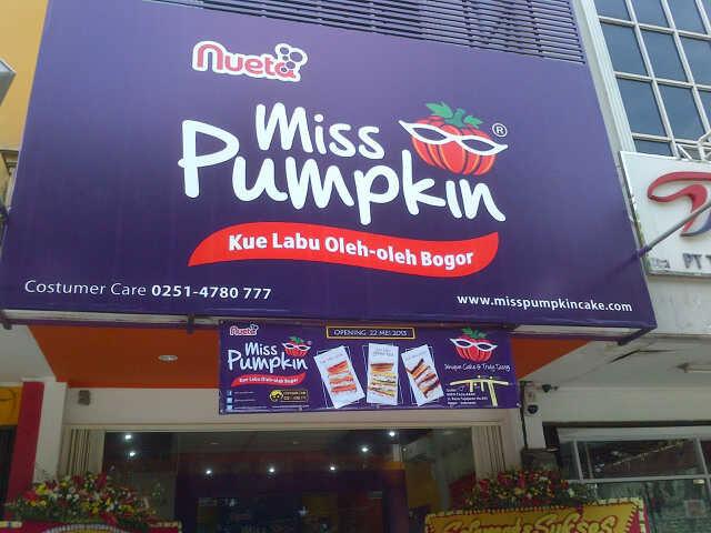Toko Kue Miss Pumpkin