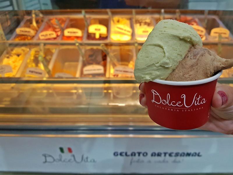 Melhor gelateria de Balneário Camboriú
