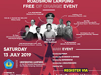 Roadshow Lampung Free of Charge Event