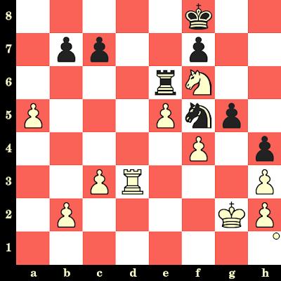 Les Blancs jouent et matent en 4 coups - Alexander Donchenko vs Matthias Bluebaum, Internet, 2020